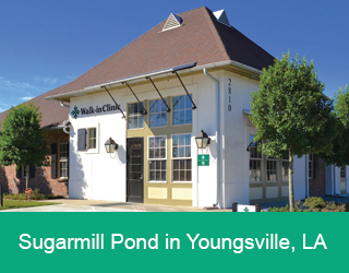 Sugarmill Pond in Youngsville, LA