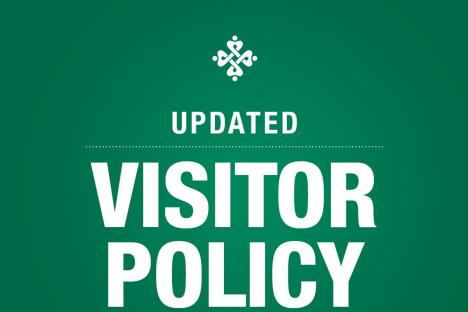 Covid-19 Updated Visitor Policy Restrictions